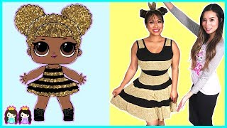 Video LOL Surprise Dolls in Real Life with Makeup + Dress up play | Toy Hair Salon Princess ToysReview MP3, 3GP, MP4, WEBM, AVI, FLV September 2018