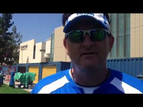 DL Coach Angus McClure on Ellis McCarthy video.