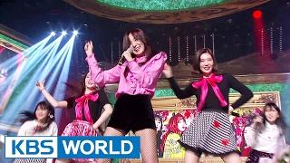 Redvelvet's ULTRA POWER rookie ceremony [Music Bank / 2017.02.17]