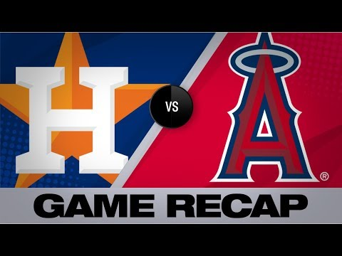 Video: Brantley, Springer lift Astros in 11-2 win | Astros-Angels Game Highlights 7/17/19