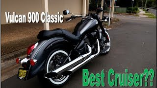 4. Kawasaki Vulcan 900 Classic - REVIEW - Penrith Motorcycle Centre
