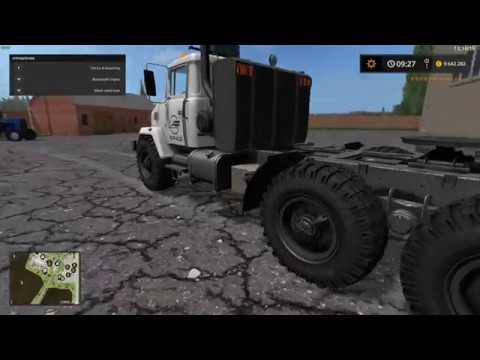 Kraz 63221 SZM Truck v1.0.0.1