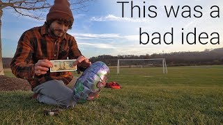 Video I Taped $20 To A Balloon And Let It Go... Then Chased It MP3, 3GP, MP4, WEBM, AVI, FLV Oktober 2018