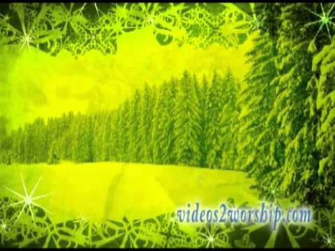 Falling Snow: Christmas Worship Background