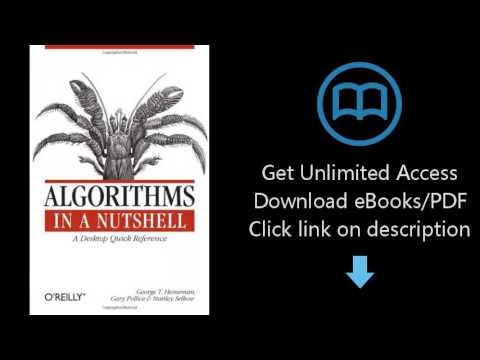 Download Algorithms in a Nutshell (In a Nutshell (O'Reilly)) PDF