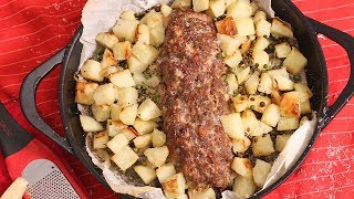 Epic Italian Meat Loaf by Laura in the Kitchen
