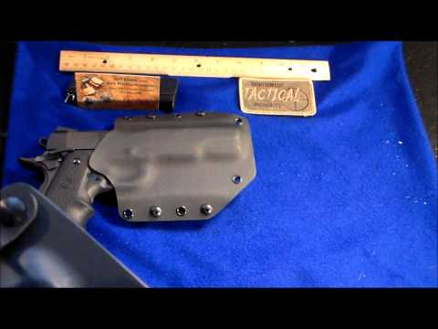 north west tactical 1911 kydex holster overview