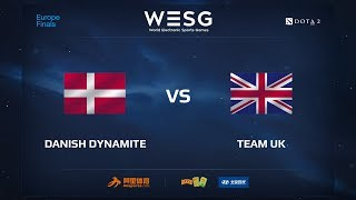 Danish Dynamite vs Team UK, WESG 2017 Dota 2 European Qualifier Finals