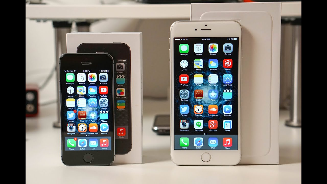 iPhone 6 Plus vs iPhone 5s Speed Test