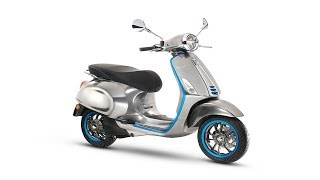 9. The first Vespa electric scooter will arrive in 2018.