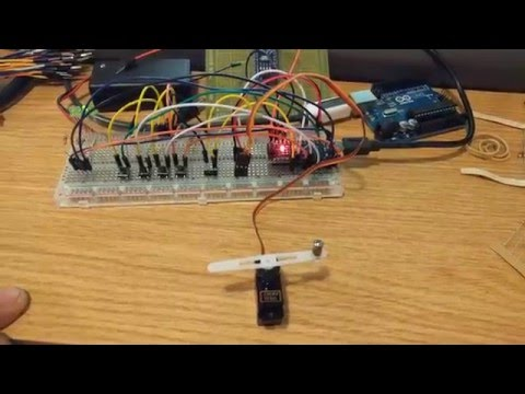 ServoTester made with arduino