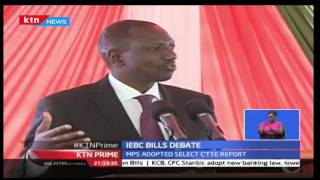 Deputy President William Ruto Hosts Jubilee MP's To Discuss The IEBC Bills Debate