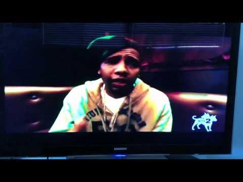 Philthy Rich freestyle on MTV 2 sucker free countdown (видео)