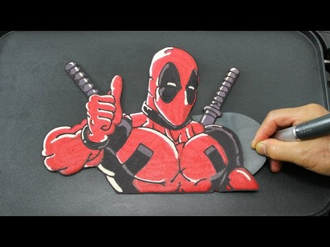 Deadpool Pancake!