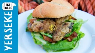 OYSTER Sandwich | Bart's Fish Tales by Bart's Fish Tales