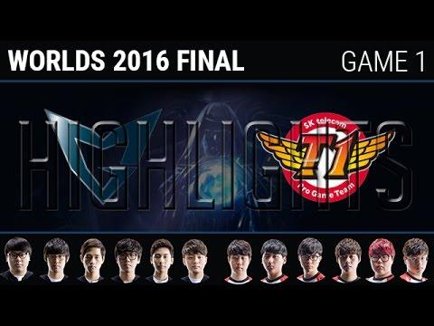 [CKTG 2016] Kết quả SK Telecom T1 vs Samsung Galaxy game 1 (30/10)