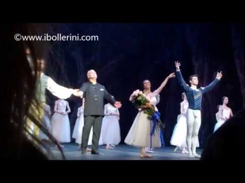 ROBERTO BOLLE - Curtain Call - Giselle 28.7.2017 - Segerstrom Hall, Costa Mesa