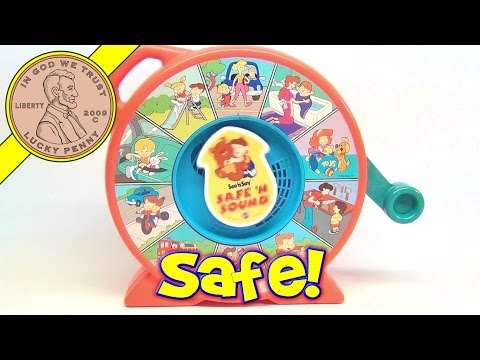 Vintage Safe 'N Sound See 'N Say Baby Toddler Toy, 1994 Mattel Toys