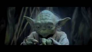 Yoda teaching Skywalker (Faith)