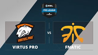 fnatic vs VP, game 1