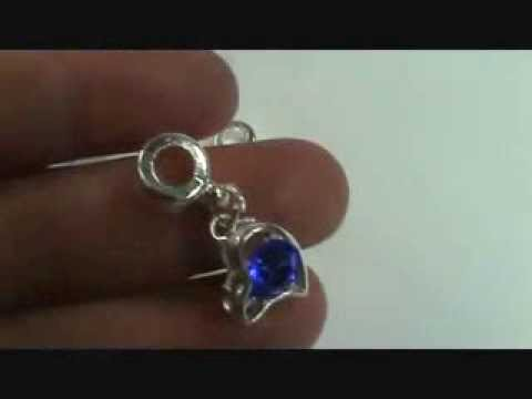 wholesale dangling crystal beads European Style Bracelets wholesalesarong.com