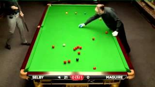 Mark Selby - Stephen Maguire (Full Match) Snooker Championship League 2014 - Group 4