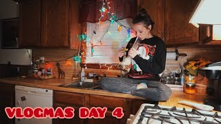 CLEANING MY APARTMENT AT 2AM lol send help // Vlogmas Day 4 (12.07.19) by Silenced Hippie