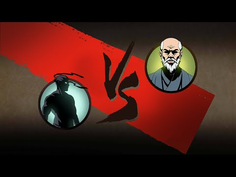 Shadow Fight 2 -Тень против Сенсея! - Самая крутая Магия! - ВортексоТитан (видео)