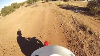 7. Honda CRF50F - ADULT first ride (Vid #2)