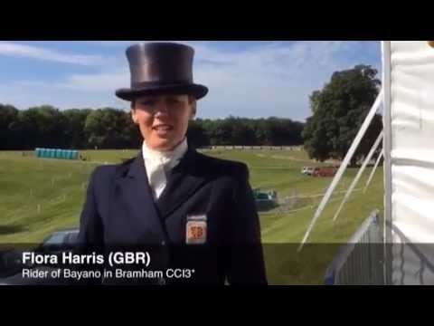 Flora Harris leads after dressage in Bramham Horse Trials CCI3* [VIDEO]