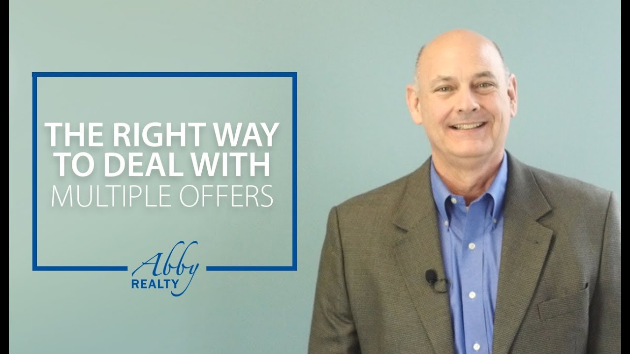 How Should You Be Handling Multiple Offer Situations With Your Clients?