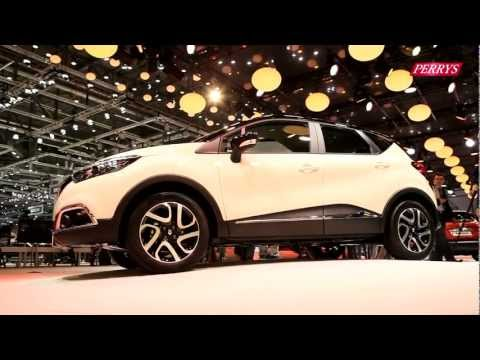 New Renault Captur sneak preview – Geneva Motor Show 2013