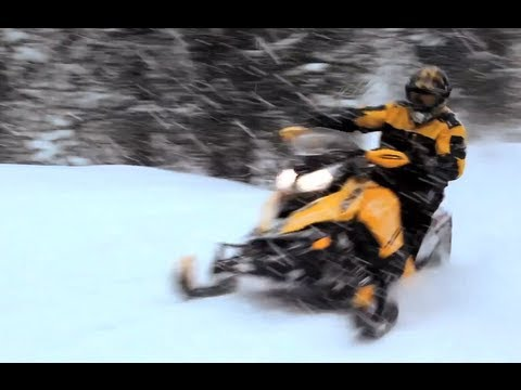 2013 Ski-Doo TNT MXZ 800 E-TEC Snowmobile Review