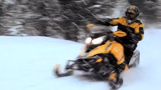 11. 2013 Ski-Doo TNT MXZ 800 E-TEC Snowmobile Review