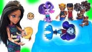 Video Brother + Sister + Baby Monster High Family Dolls + Slurping Slime Toys MP3, 3GP, MP4, WEBM, AVI, FLV Oktober 2018