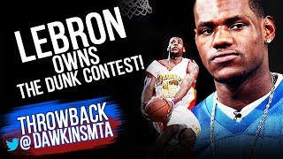 Video All DUNKS Of 2003 HS Dunk Contest - Young LeBron OWNS it! | FreeDawkins MP3, 3GP, MP4, WEBM, AVI, FLV Juni 2018
