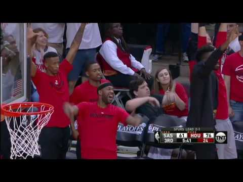 NBA Highlights: Spurs @ Rockets Game 4 5/7/2017