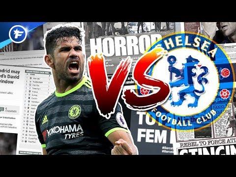 Diego Costa part au clash avec Chelsea | Revue de presse