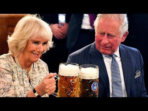 Μπύρα και χορός για Κάρολο-Καμίλα