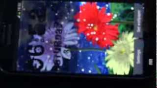 Flowers Live Wallpaper YouTube video