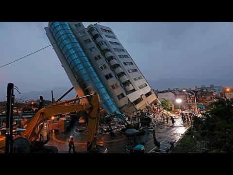 Ταϊβάν: 9 νεκροί και 62 αγνοούμενοι από τον ισχυρό σεισμό