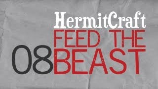 HermitCraft Feed The Beast: Episode 8 - FRIGGIN WISP JERKS
