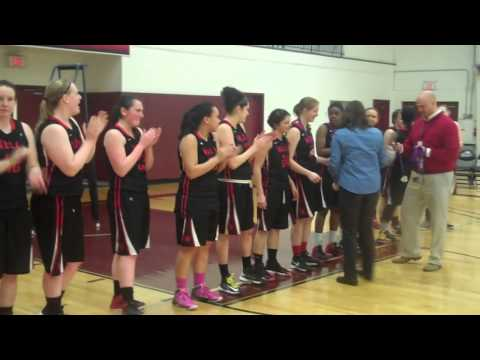 Wells College Wins 2014 NEAC Women's Basketball Championship