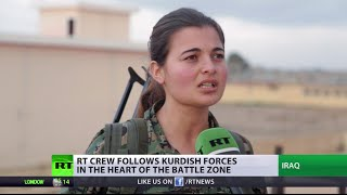 Female fighters vs Islamic State: 'We let ISIS members end up in hell'