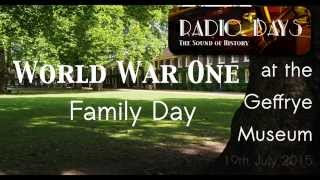 Radio Days at the Geffrye Museum