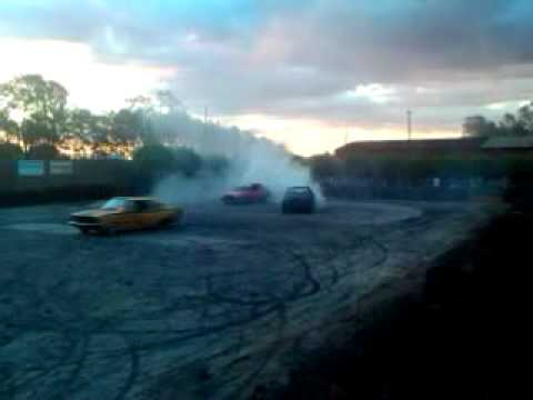 explode car 2011 ponta pora