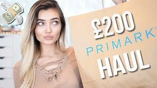 Video I SPENT £200 IN PRIMARK...IS IT WORTH IT!? TRY ON HAUL! MP3, 3GP, MP4, WEBM, AVI, FLV Juni 2018