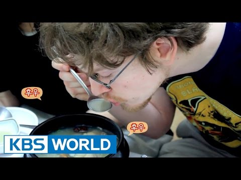 [Idol Battle Likes] Korean Food Challenge - chicken soup with ginseng