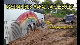 Download Video KASIHAN BUS MAHAL DI JADIKAN OFFROAD MP3 3GP MP4
