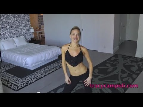 TRACY'S Bikini ABS How to have a tiny waist and flat stomach MIAMI style!